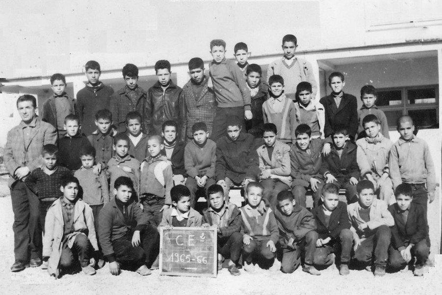Souvenir de classe 1965-1966