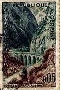 Timbre Postal 3 après 1962