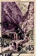 Timbre Postal 2 avant 1962