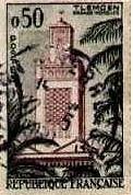 Timbre Postal 3 avant 1962