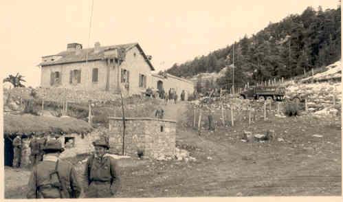 La Maison forestière sur le Massif de Boutaleb,1957-1958