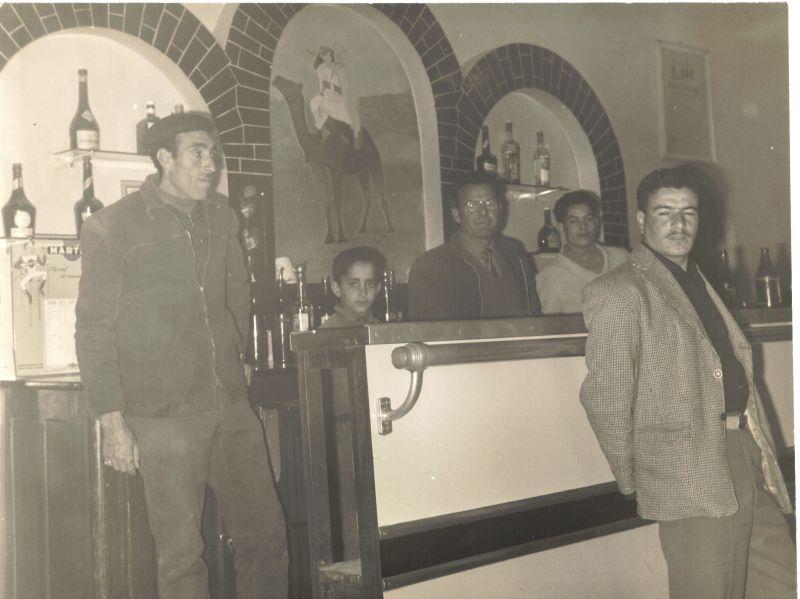 Intérieur du café Santo,1960