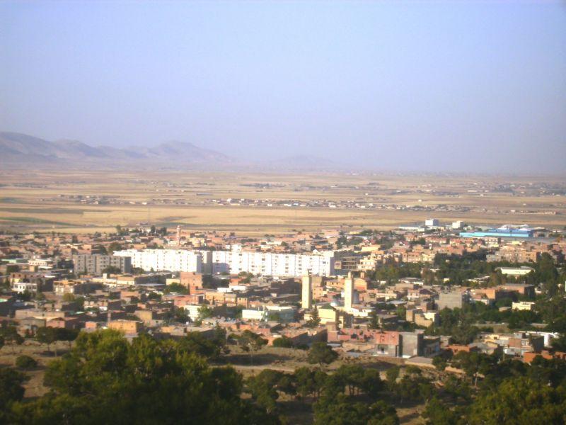 Vue panoramique de Ain-Oulmène