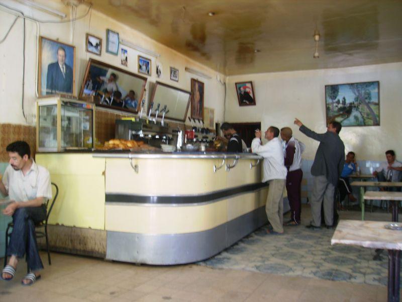 Intérieur du Café ex Santo,Juin 2009