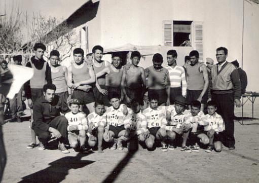 Photo Souvenir des Cadets & Juniors de l'équipe de Foot de Colbert,50-60