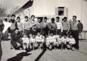 <b>Photo Souvenir des Cadets & Juniors de l'équipe de Foot de Colbert,50-60</b> <br />