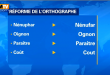 France : Adieu accent circonflexe, la réforme de l'orthographe va s'appliquer en septembre