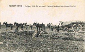 Transport des calamines de  Boutaleb (Colbert), années 40