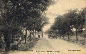 Entrée de Colbert, début 1900