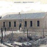 <b>Hôpital indigène (infirmerie) de Colbert vers 1930</b> <br />