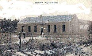 Hôpital indigène (infirmerie) de Colbert vers 1930