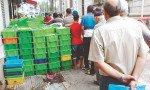 Le lait en sachet se fait de plus en plus rare et la tension s'intensifie à travers tout le territoire du pays
