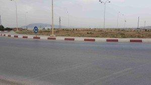 Rond-point Nord de la ville de Ain Oulmène