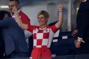 La jeune présidente Kolinda Grabar-Kitarovic (KGK) de la Croatie et le Mondial 2018 fait parler d'elle