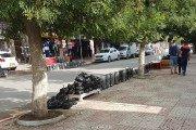 Les trottoirs des rues de la ville de Ain Oulmène squattées à quelques jours de la fête de l'Aid El Kébir