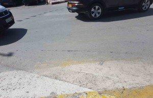 Passage clouté au niveau du carrefour de 'école-siège de la sûreté de Ain Oulmène 02-09-2018