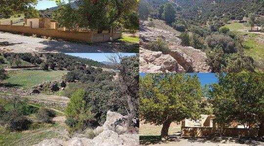 La résidence secondaire de l'ex wali de Sétif (80-90) est toujours abandonnée,sise au Sud-Est de Rasfa (Sud de Ain Oulmène)