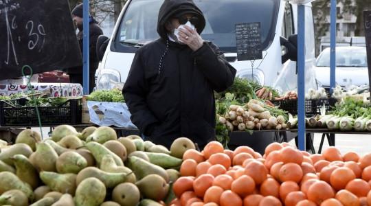 Coronavirus:Le marché quotidien de légumes et de fruits d'El Gasriya de la ville de Ain Oulmène a été de nouveau fermé ce dimanche